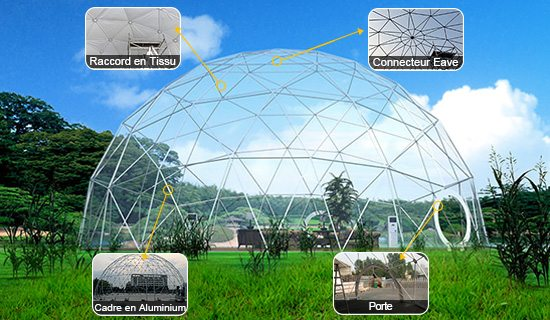 Serie Dome Geodesique - Shelter Tente
