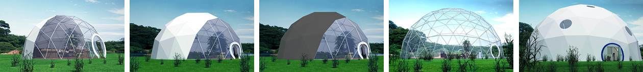 Serie Dome Geodesique - Shelter Tente 2