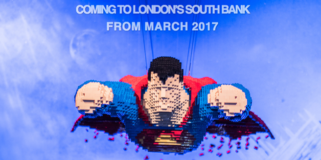 Structure de Tente - Art of the Brick DC Super Heroes Opens 1st March 1
