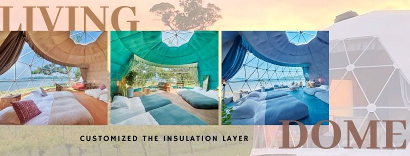 living dome - insulation layer